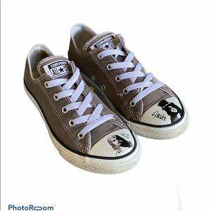 Converse All Stars Custom Guns & Roses Sneakers